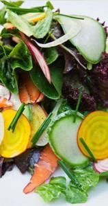 Yellow Beet Salad