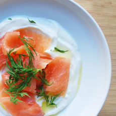 Smoked Salmon, Dill & Yogurt