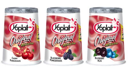 Yoplait Superfruits Yogurt