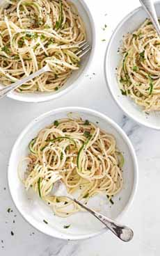 Zoodles - Zucchini Noodles & Pasta